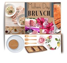 """""""Mother's Day Brunch"""" by ladygroovenyc ❤ liked on Polyvore featuring interior, interiors, interior design, home, home decor, interior decorating, Sur La Table, OXO, Kate Spade and spring2016"""