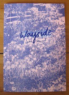 Wayside 2 colour risograph zine by LeahNyssa - Google Search