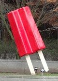 Giant Red Popsicle - Seattle, WA