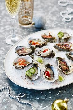 Oyster bar!  5 oyster recipes to try this summer. Photography - Denise Braki. Styling & food - Jono Fleming.