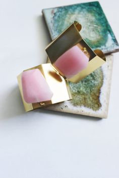 My newest brass cuff bracelet combines sweet spring pink with bold shiny brass! This is one of my absolute favorites for its simplicity and