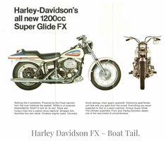early '90's Harley-Davidson Super Glide FX