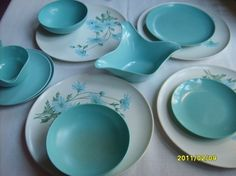 My mom and grandma had a lot of melmac dishes back in the days! Too bad they got rid of them,would love to own them.