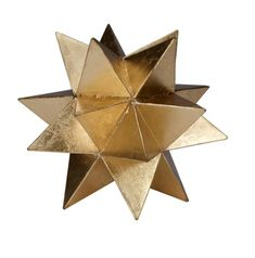 """Information: Worlds Away Cosmo Moroccan Style Star Features: The Worlds Away Cosmo Moroccan style star supplies a touch of contemporary decor. This piece captivates in shimmering gold or silver leaf. It's sure to blend seamlessly with most any style of decor. Available in small, medium or large sizes. Dimensions: 8"""" DIA Large 7"""" DIA Medium 6"""" DIA Small Free Delivery"""