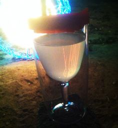 "Megan: ""This picture was taken at the River of Lights in Albuquerque, NM. A little vino made the cold night a little warmer!"" #winesippycup #Vino2Go @The Product Farm store.theproductfarm.com"