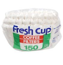 Bulk Fresh Cup Paper Coffee Filters, 150-ct. Packs at DollarTree.com