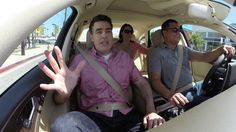 Adam Carolla helps Edmunds.com launch #CARWEEKLA by riding shotgun with some unsuspecting Edmunds customers going for a test drive at Keyes Audi.