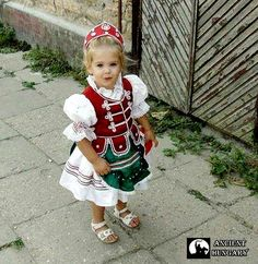 Hungarian little girl's costume. I remember when my mom used to dress me up like this for festivals.