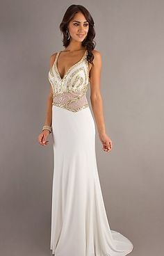 Have one to sell? Sell it yourself       Dave And Johnny Ivory/Gold Evening Gown