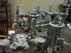 Dreamspirit Wargaming Studio Tau 40K scifi scenery