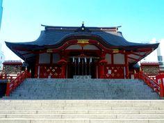 I think it's a shrine of Shinjuku ... maybe.