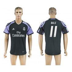 Real Madrid 16-17 Gareth Bale 11 TRödjeställ Kortärmad  #Fotbollströjor