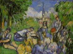 Paul CEZANNE Le Déjeuner sur l'herbe