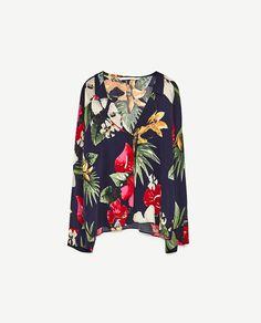Image 8 of PRINTED SHIRT from Zara