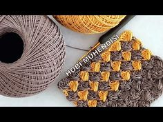 COOL ,TARZ VE KOLAY BİR #örgü İSTEMİŞTİNİZ😉KIRAR MIYIM HİÇ? 😊EASY #CROCHET PATTERN 😏#knitting - YouTube Crochet Stitches Patterns, Stitch Patterns, Filet Crochet, Free Pattern, Diy And Crafts, Embroidery, Purses, Cool Stuff, Knitting