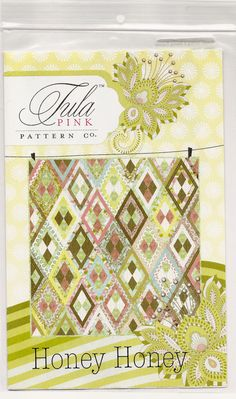 HoneyHoney Pattern by Tula Pink by JeanMariesFabrics on Etsy, $10.00 #tulapink #honeyhoney #tulatroop