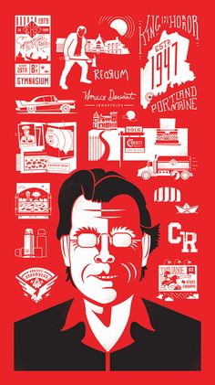 Illustration inspiration | #998 - Stephen King Tribute