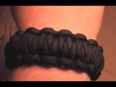 Awesome Survival Paracord Bracelets....just type in Millipede Paracord Bracelet in YouTube & you can learn how to make them. Super cheap & awesome because it's fashionable & save you when you're in a pickle =]