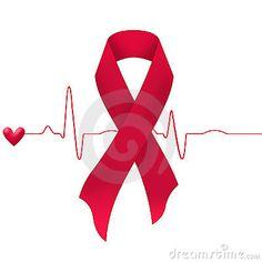heart Disease Ribbon Color | Heart Disease Ribbon Support-cure-heart-disease- ...