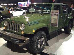 Jeep Wrangler 75 anos (Foto: André Paixão/G1)