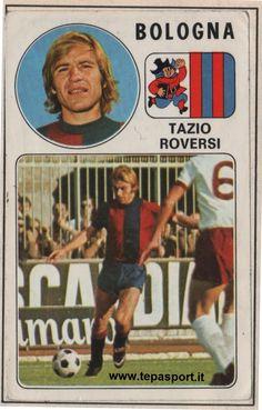Tantissimi auguri al mitico Tazio Roversi  (Moglia, 21 marzo 1947 – Bologna, 17 ottobre 1999) è stato un calciatore italiano, di ruolo difensore. A noi piace ricordarlo così, campione di un calcio che non c'è più ... ⚽️ C'ero anch'io ... http://www.tepasport.it/  Made in Italy dal 1952