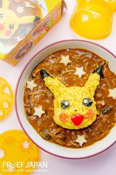 Pikachu curry met paddenstoelen   Proef Japan Pikachu, Pokemon, Family Meals, Thai Red Curry, Ethnic Recipes, Food, Essen, Meals, Yemek