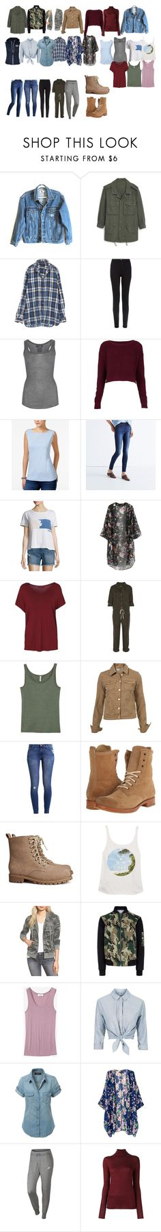 """Alicia Clark season 2 essentials - ftwd / fear the walking dead"" by shadyannon ❤ liked on Polyvore featuring Calvin Klein Jeans, MANGO, New Look, Isabel Marant, Topshop, Karen Scott, Madewell, Current/Elliott, Enza Costa and H&M"