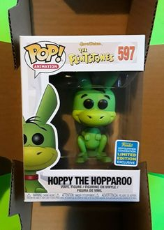 1-POP Animation Flintstone Hoppy Hopparoo San Diego Comic Con Shared Exc Bundle #Funko