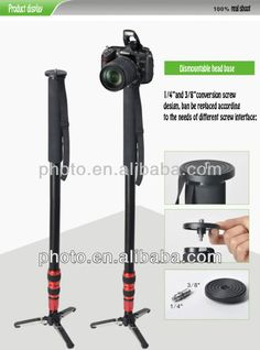 dslr camera stand:  1.Easy to carry  2.Flexible and lightweight  3.Four sections