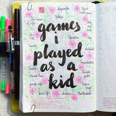 Write down the games you played as a kid and whenever you're feeling restless do something on that list!