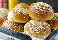 Beautiful Burger Buns Recipe