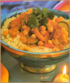 zöldséges kuszkusz Chana Masala, Meat Recipes, Salsa, Mexican, Ethnic Recipes, Green, Food, Food And Drinks, Beef Recipes