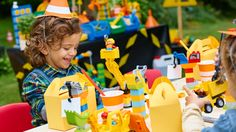 Build the ultimate LEGO® DUPLO® construction-themed birthday party with our plan – complete with free printable templates!