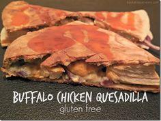 Udi's #GlutenFree Buffalo Chicken Quesadilla