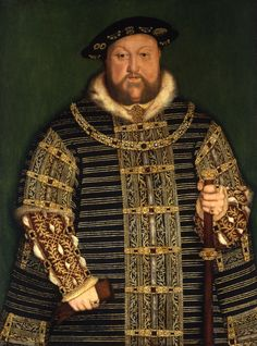 This portrait after the famous official portrait by the German artist Hans Holbein the Younger shows us Henry VIII, King of England, in his late years and as he is remembered by posterity: as a mounta Los Tudor, Tudor Era, Artistic Portrait Photography, Photography Senior Pictures, 1 John, Crown Paint Colours, Adele, Robert Mapplethorpe Photography, Van Gogh Famous Paintings