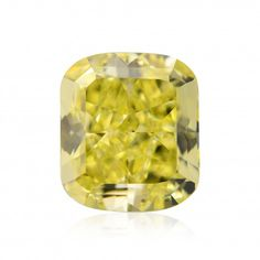 1.02 carat, Fancy Intense Yellow Diamond, Cushion Shape, VS1 Clarity, GIA, SKU 220012