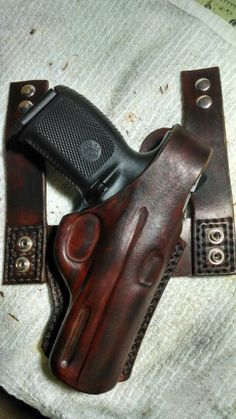 S&W 40 holster by DSLeatherworks