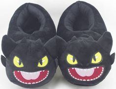How to Train Your Dragon Toothless Character Slipper Night Fury Monstrous Shoe in Clothes, Shoes & Accessories, Kids' Clothes, Shoes & Accs., Boys' Shoes   eBay