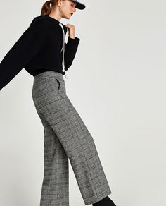 d70a6289c12 CHECKED TROUSERS - Smart