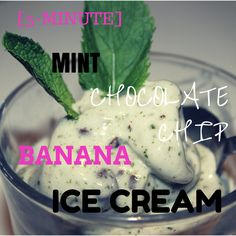 Just when you thought that life couldn't get any better, along comes the easiest, yummiest, healthiest mint chocolate chip banana ice cream recipe around.