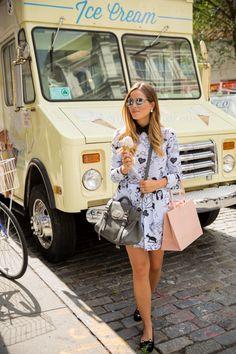Gal Meets Glam- Ice Cream & Shopping in Soho