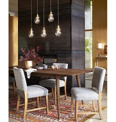 Baltimore 5-Light Multipendant 36in Rectangle - Staggered Drop A0275