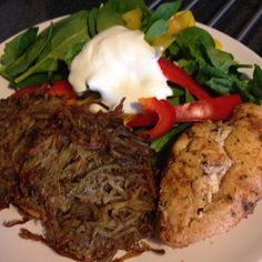 Cajun chicken and potato rösti - 90 daysss plan - The Body Coach - Cycle 2