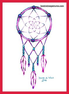 beautiful! i want on my neck small. Dream Catcher Tattoos