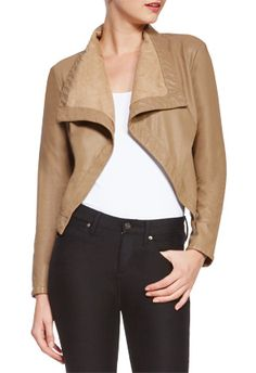 This is the best ever! This jacket screams fall and will get as much use this season as my trench. #justfabonline