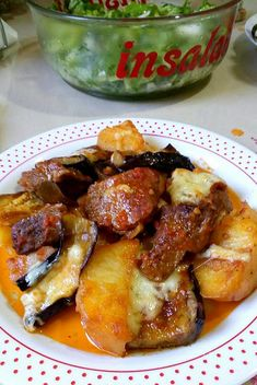 My Favorite Food, Favorite Recipes, Greek Dishes, Greek Recipes, Eggplant, Chicken Wings, Food To Make, French Toast, Cooking Recipes