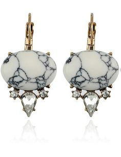 Samantha Wills Awake In The Dark Earrings White Howlite
