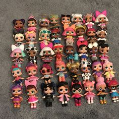 My daughter's LOL doll collection! #lolsurprise #loldolls #mgaentertainment