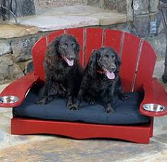 Adirondack chair for dogs