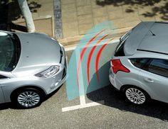 Ford S-Max - Xvision (SCC) Sensori di parcheggio posteriori.